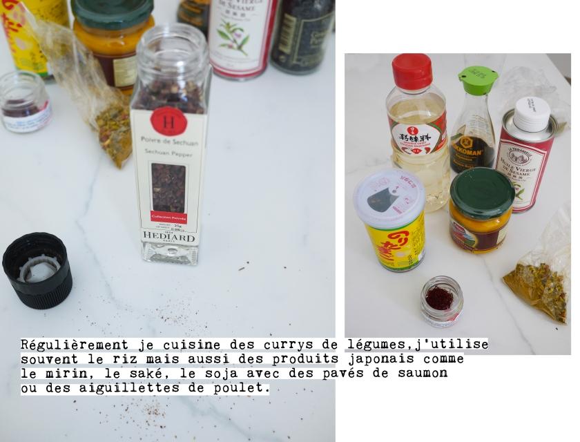 épices - condiment - herbes séchées - huile -sauce