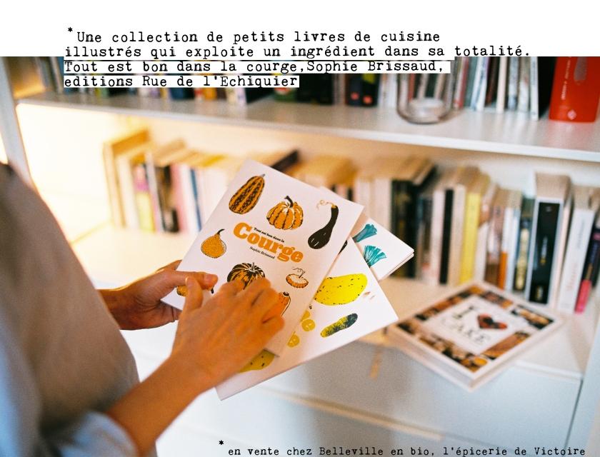 Une collection de petits livres de recette illustrés