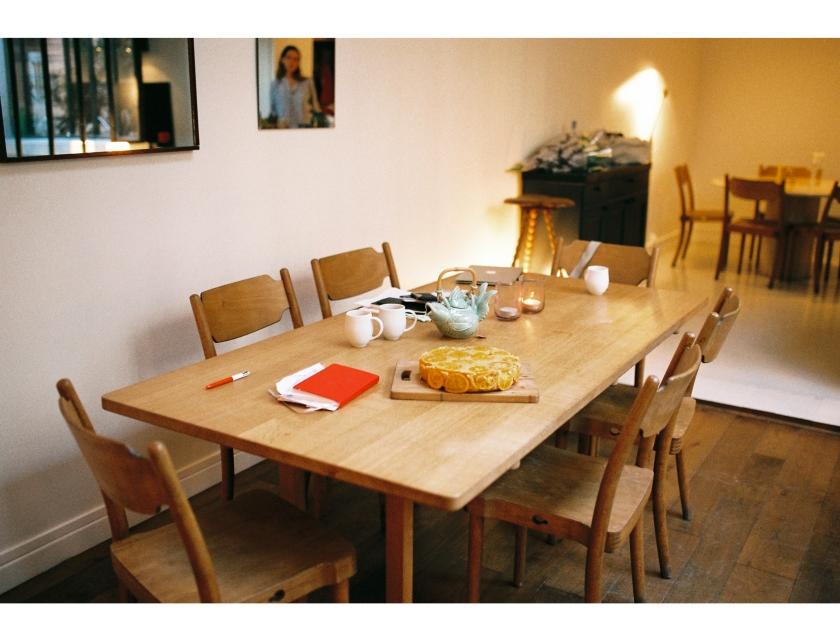 Vue d'ensemble de la salle à manger de Victoire