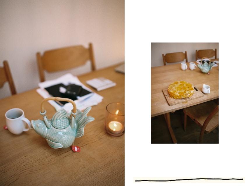 Cadrage sur la table de Victoire
