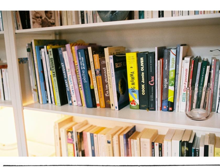 Focus sur les livres de la bibliothèque
