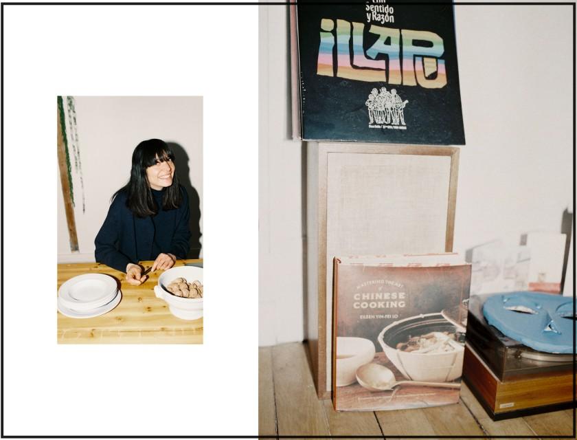 Des noix et des vinyls