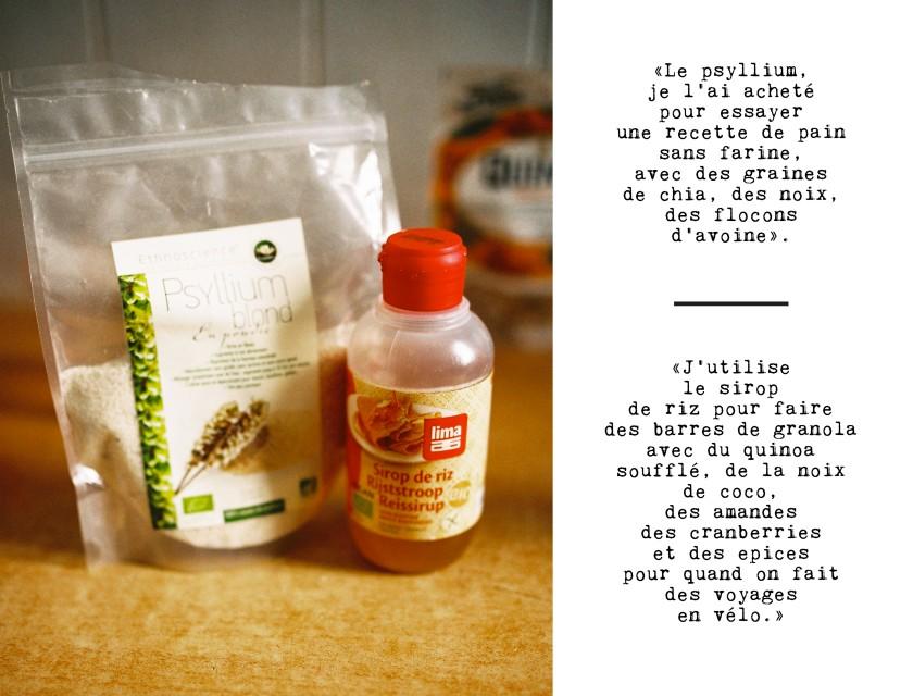 psyllium et sirop de riz