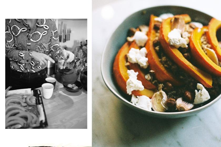 Clarisse et sa recette du potimarron au four, une recette simple et familliale